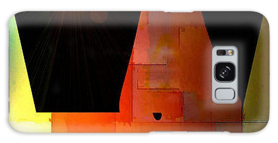 Digital Galaxy S8 Case featuring the digital art Night In The Desert by Ilona Burchard