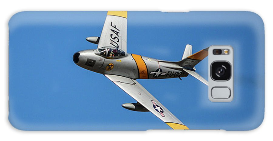 2014 Hemet Ryan Air Show Galaxy S8 Case featuring the photograph North American F-86 Sabre by Tommy Anderson
