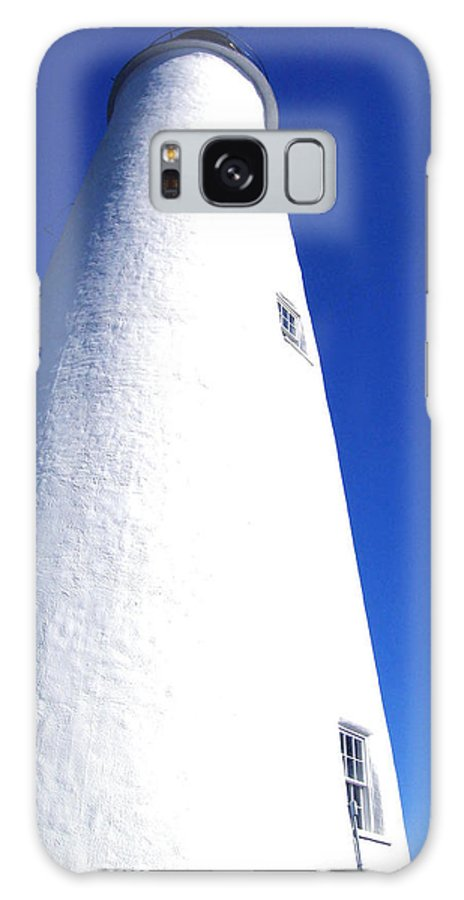 Ocracoke Galaxy S8 Case featuring the photograph Ocracoke Island Light House by Wayne Potrafka