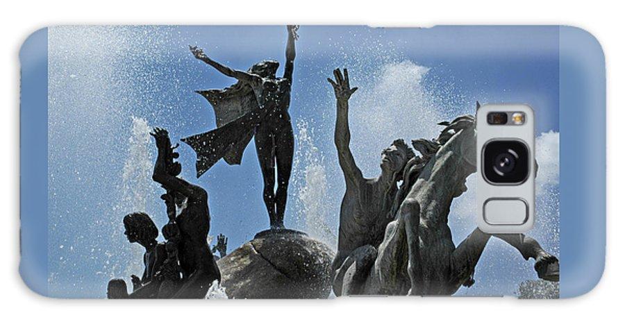 Statue Galaxy Case featuring the photograph Old San Juan Puerto Rico by Tito Santiago