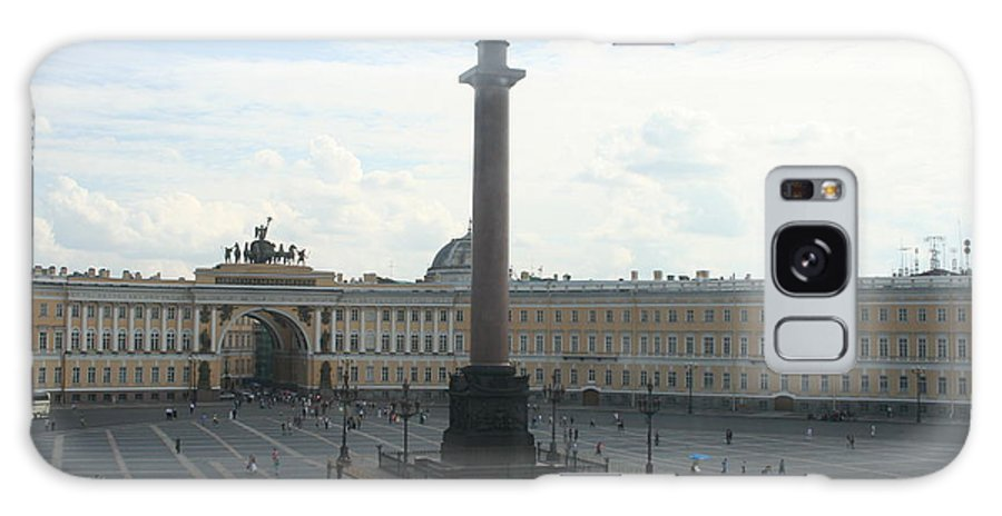 Palace Galaxy S8 Case featuring the photograph Palace Place - St. Petersburg by Christiane Schulze Art And Photography