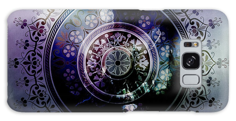 Islamic Art Galaxy S8 Case featuring the painting Pattern Art 008 by Gull G