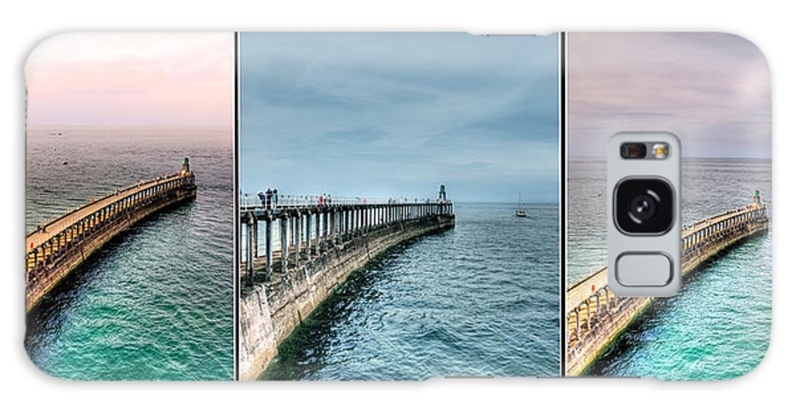 Aqua Galaxy S8 Case featuring the photograph Pier by Svetlana Sewell