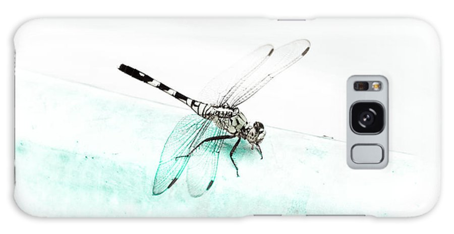 Dragonfly Galaxy S8 Case featuring the photograph Pool Side by Kim Henderson