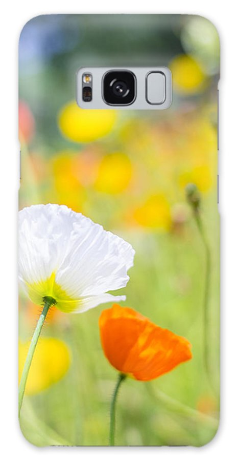 Flowers Galaxy S8 Case featuring the photograph Poppies by Silke Magino
