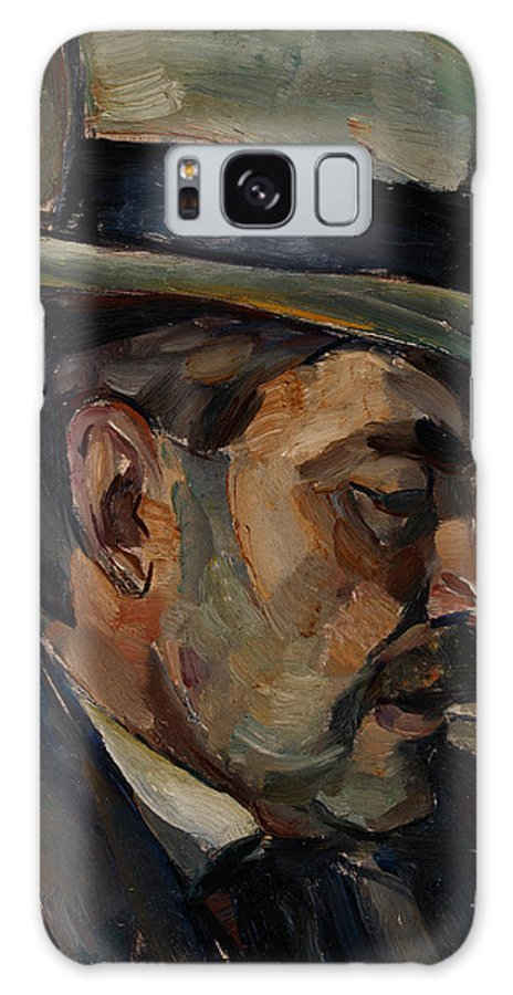 Ilmari Aalto Galaxy S8 Case featuring the painting Portrait Of Artist Karnakoski by Celestial Images