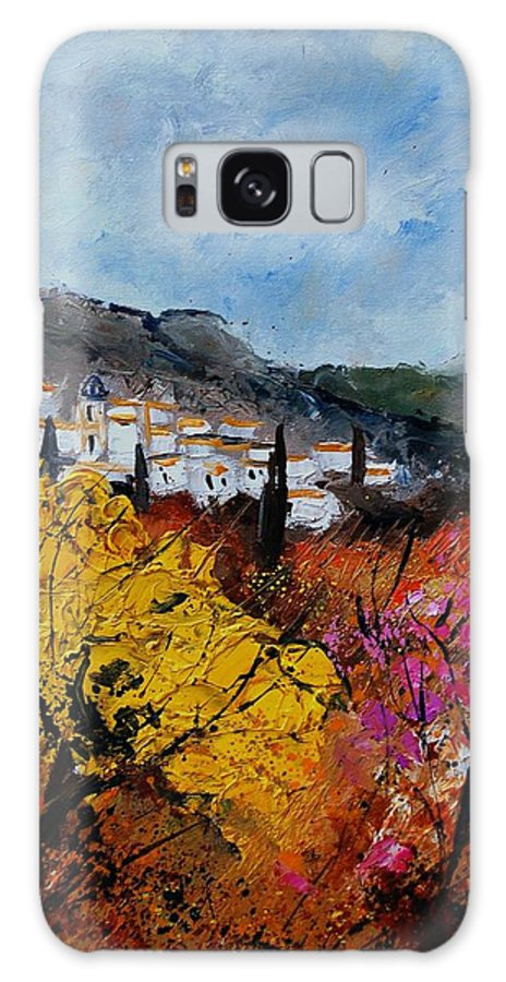 Provence Galaxy Case featuring the painting Provence by Pol Ledent