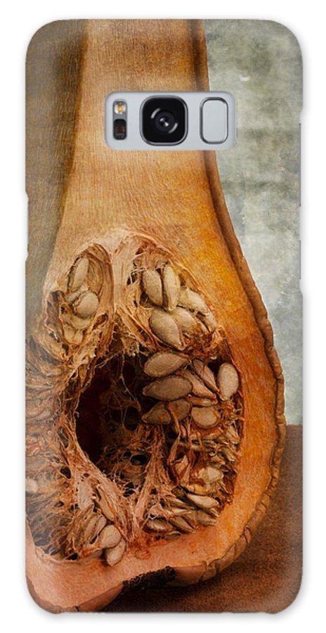 Anatomy Galaxy S8 Case featuring the photograph Pumpkin Anatomy by Valentin Ivantsov