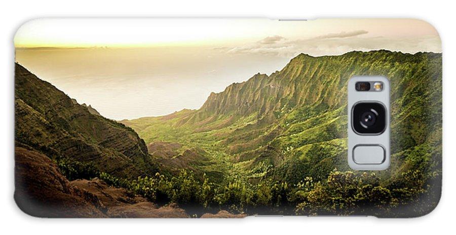 Pu'u O Kila Lookout Galaxy S8 Case featuring the photograph Puu O Kila Lookout, Kauai, Hi by T Brian Jones
