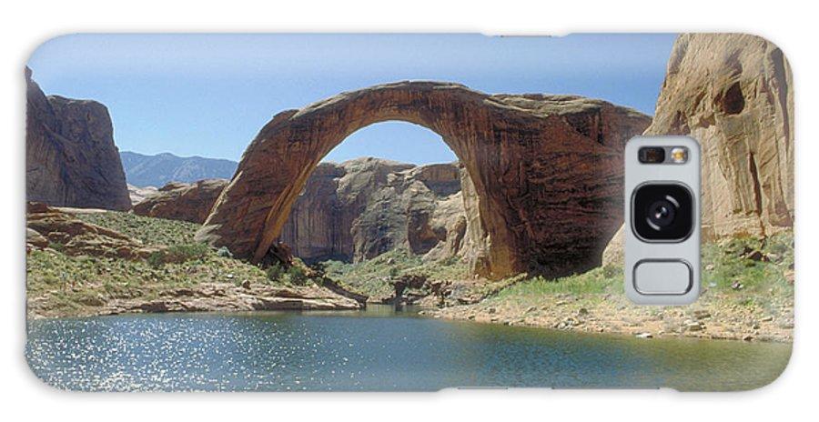 Rainbow Bridge Galaxy S8 Case featuring the photograph Rainbow Bridge by Jerry McElroy