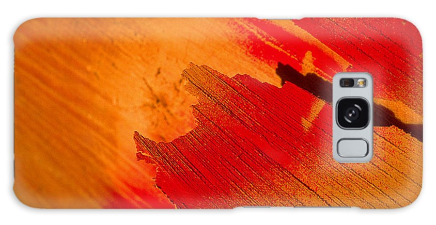 Red Galaxy Case featuring the photograph Red Alert by Michael Mogensen