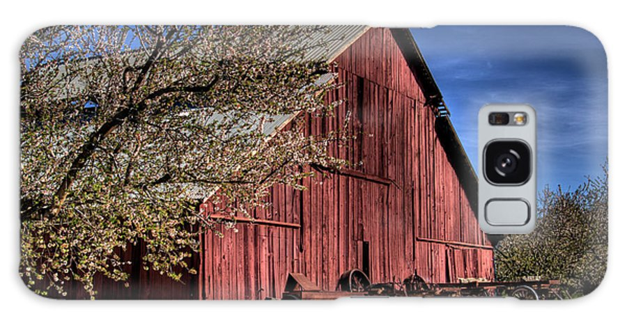 Barn Galaxy S8 Case featuring the photograph Red Barn by Jim And Emily Bush