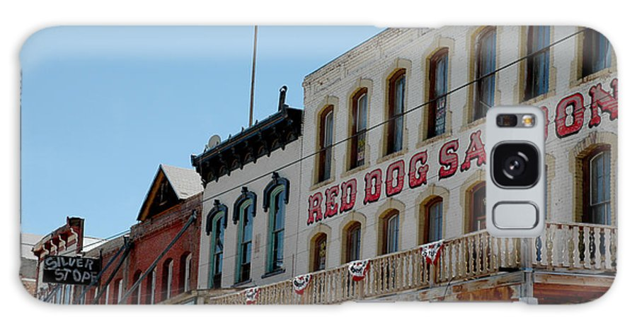 Usa Galaxy S8 Case featuring the photograph Red Dog Saloon by LeeAnn McLaneGoetz McLaneGoetzStudioLLCcom