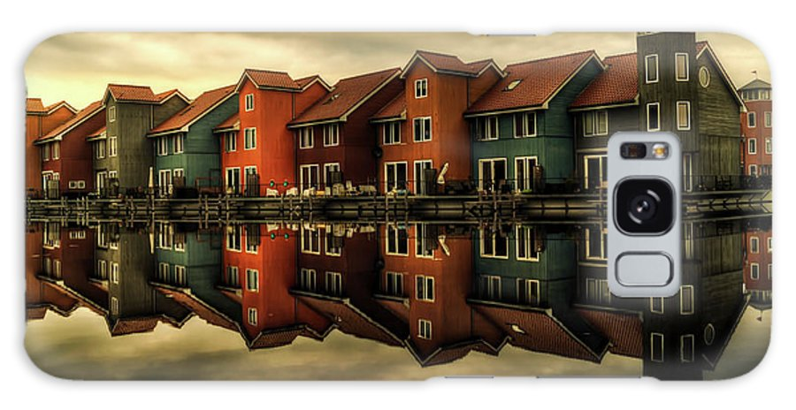 Groningen Galaxy S8 Case featuring the photograph Reflections Of Groningen by Skitterphoto