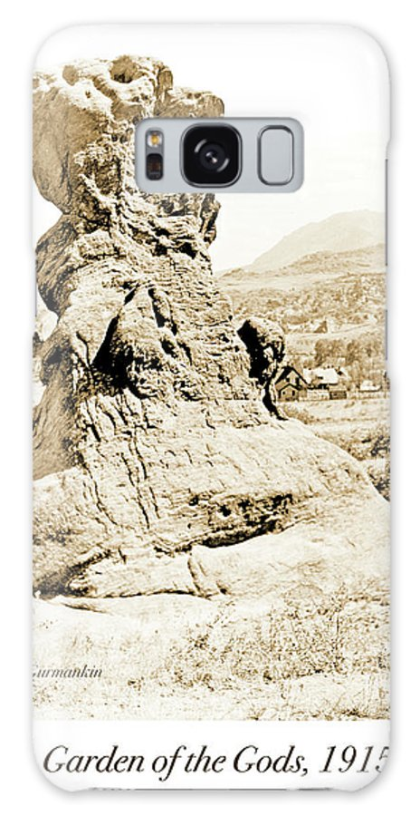 Natural Galaxy S8 Case featuring the photograph Rock Formation, Garden Of The Gods, 1915, Vintage Photograph by A Gurmankin