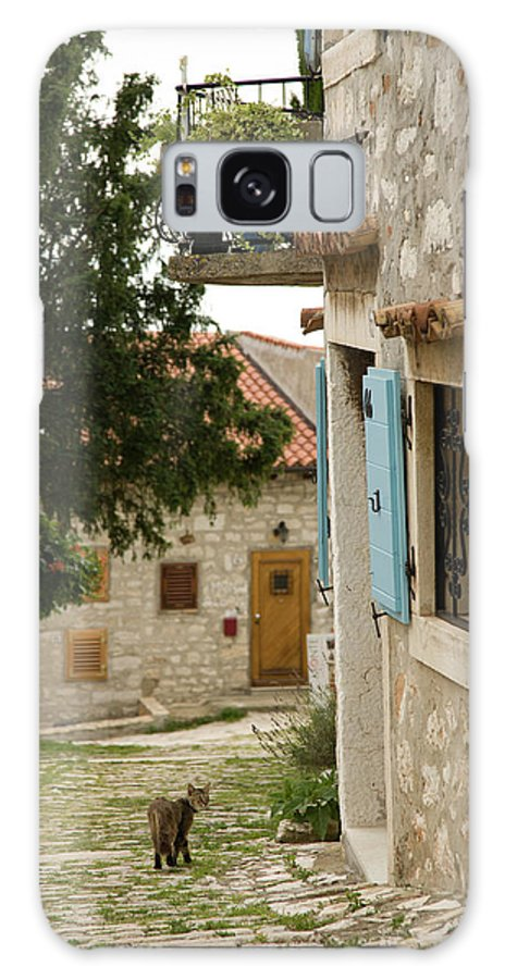 Croatia Galaxy S8 Case featuring the photograph Rovinj by Ian Middleton