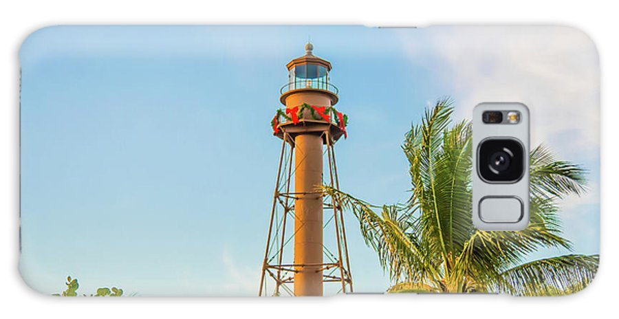 Landscape Galaxy S8 Case featuring the photograph Sanibel Lighthouse by Samuel Jokich