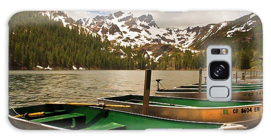 Sardine Lake Galaxy S8 Case featuring the photograph Sardine Lake by Mick Burkey