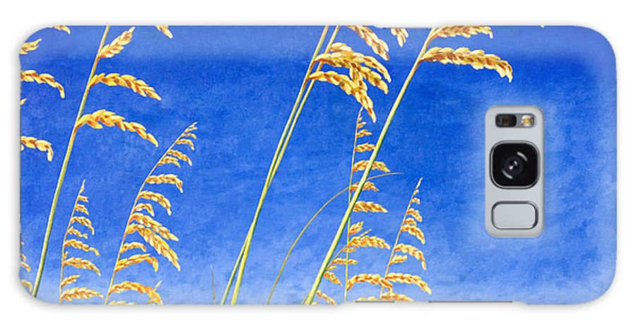 Sea Oats Galaxy S8 Case featuring the painting Sea Oats by Blaine Filthaut
