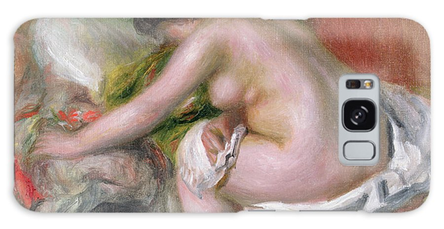 Seated Galaxy S8 Case featuring the painting Seated Bather by Pierre Auguste Renoir