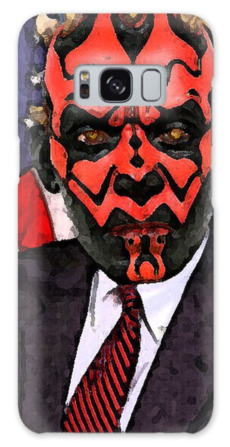 Star Wars Galaxy S8 Case featuring the digital art Senator Darth Maul by Eric Forster