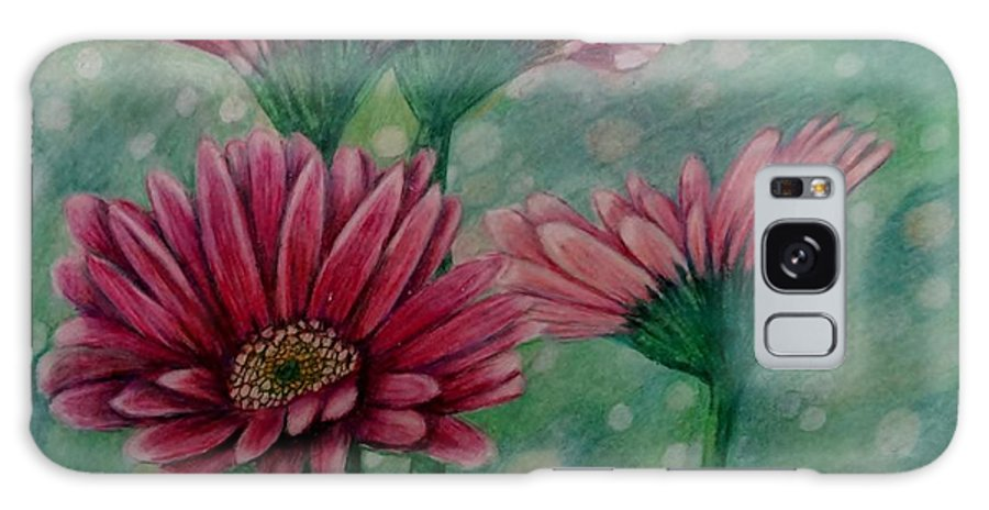 Daisy Galaxy S8 Case featuring the painting Serenity by Lori Lee