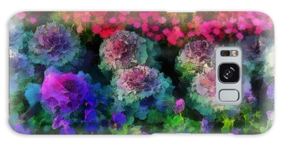 Flower Galaxy S8 Case featuring the painting Signs Of Spring by Paulette B Wright
