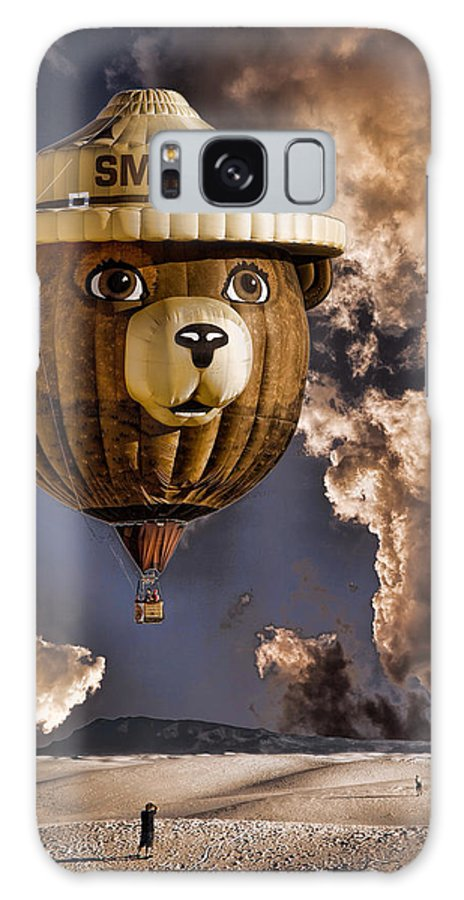Smokey Galaxy S8 Case featuring the photograph Smokey by Diana Powell