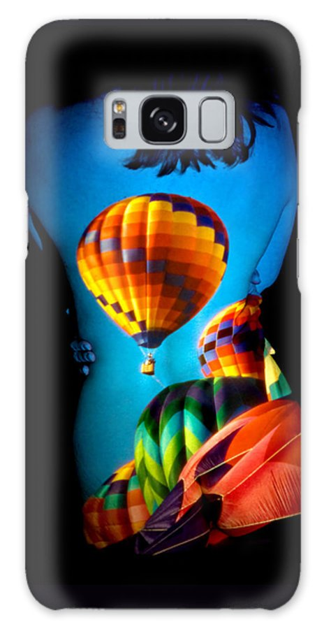 Hot Air Balloon Galaxy S8 Case featuring the photograph Soarin Beauty by Greg Fortier
