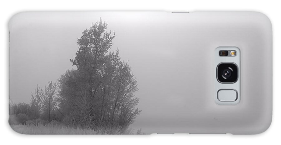 Fog Galaxy S8 Case featuring the photograph Solitude by Tory Stephens