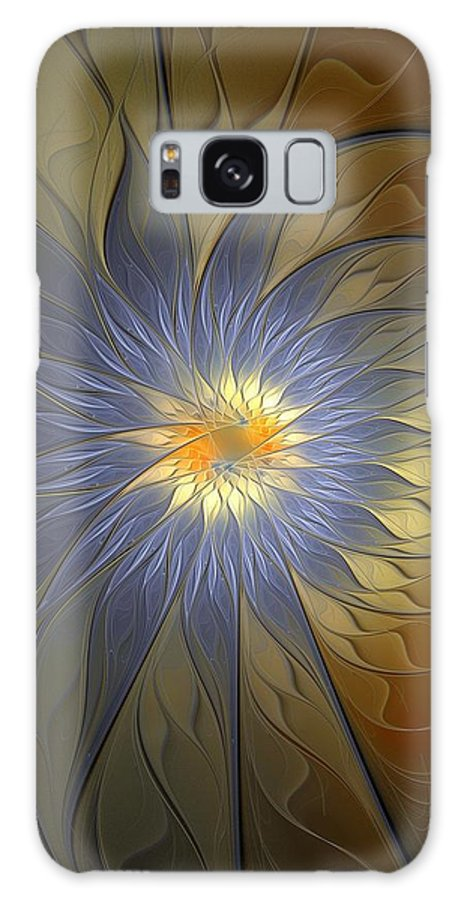 Digital Art Galaxy S8 Case featuring the digital art Something Blue by Amanda Moore