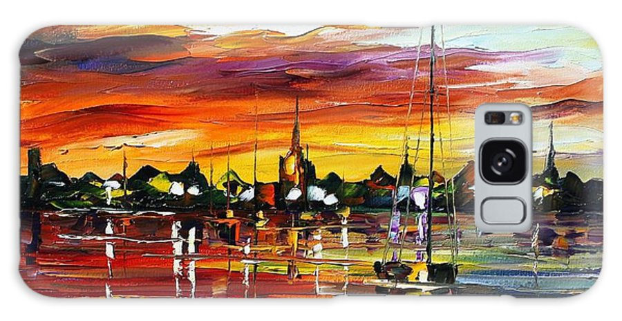 Afremov Galaxy S8 Case featuring the painting Spain by Leonid Afremov