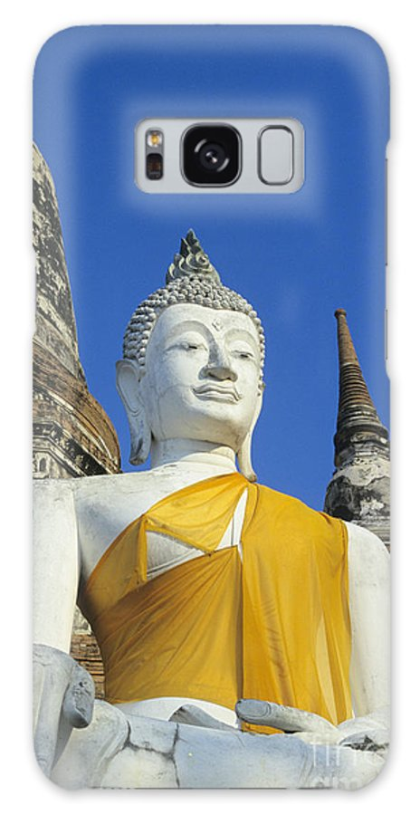 Ancient Galaxy S8 Case featuring the photograph Sukhothai Historical Park by Gloria & Richard Maschmeyer - Printscapes