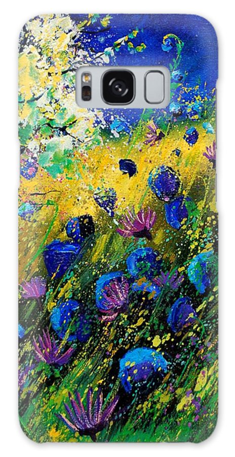 Poppies Galaxy S8 Case featuring the painting Summer 450208 by Pol Ledent