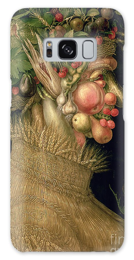 Summer Galaxy S8 Case featuring the painting Summer by Giuseppe Arcimboldo