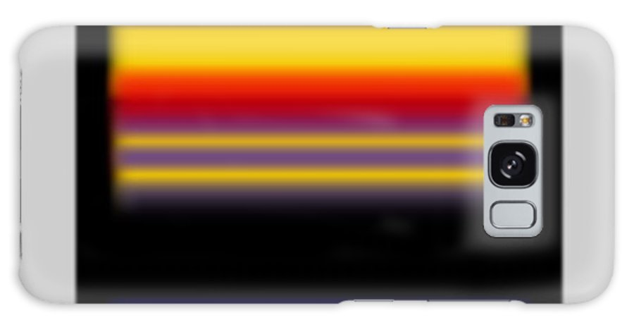 Rothko Galaxy S8 Case featuring the painting Sunset by Charles Stuart