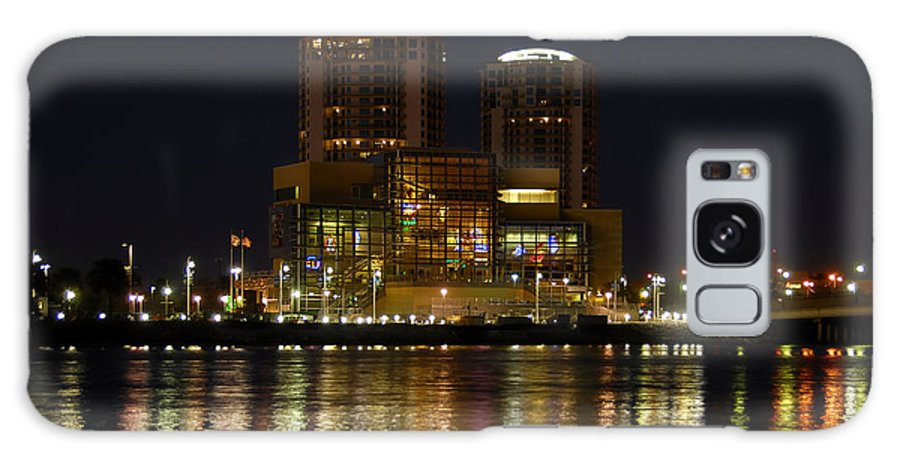 Tampa Bay History Center Galaxy S8 Case featuring the photograph Tampa Bay History Center by David Lee Thompson