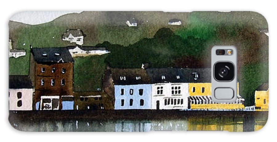 Landscape Galaxy Case featuring the painting Tarbert by Paul Dene Marlor