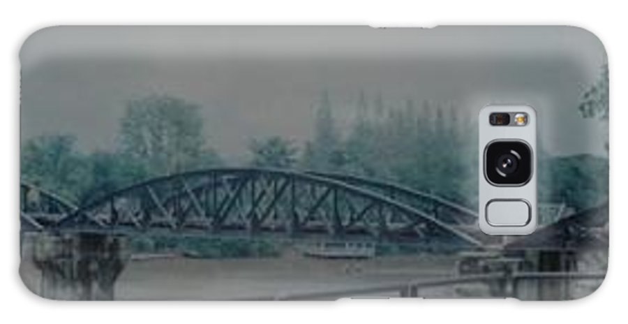 Bridge Galaxy S8 Case featuring the photograph The Bridge On The River Kwai by Rob Hans