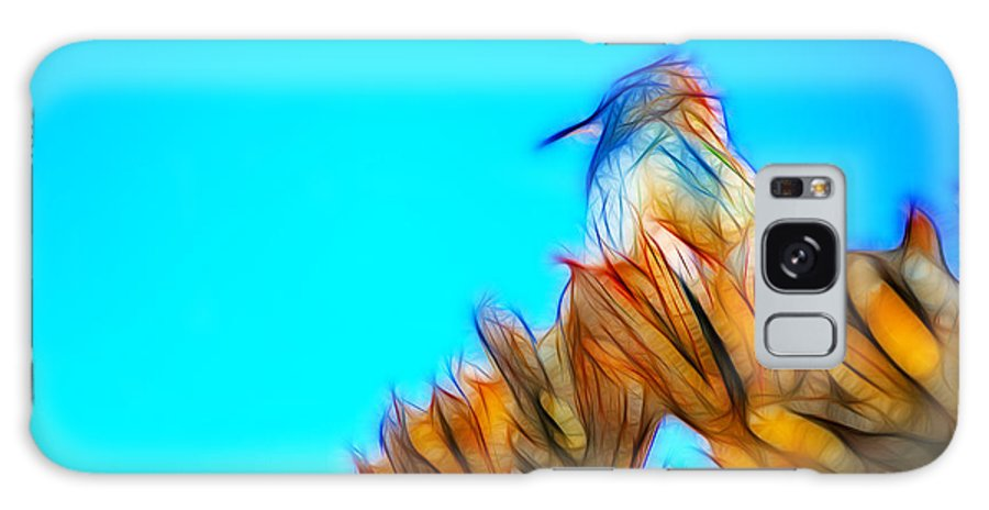 Fine Art Galaxy S8 Case featuring the photograph The Cactus Wren by Donna Greene
