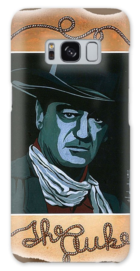 Galaxy S8 Case featuring the painting The Duke T-shirt by Herb Strobino