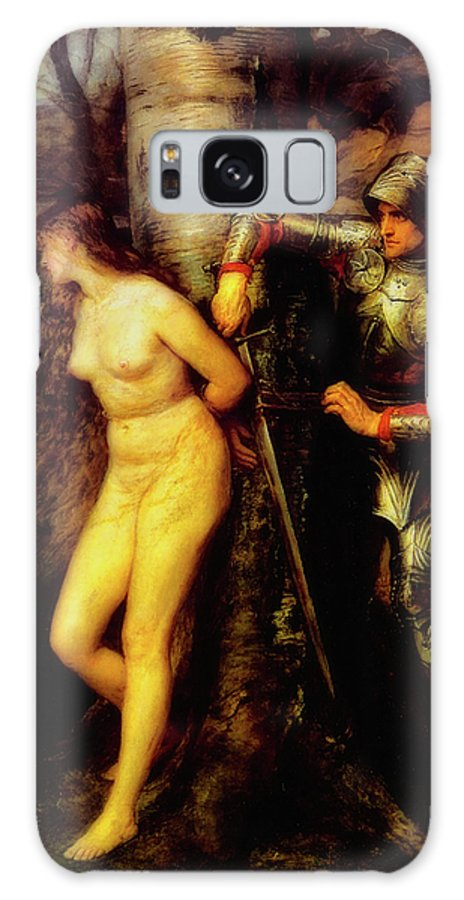Painting Galaxy Case featuring the painting The Knight Errant by John Everett Millais