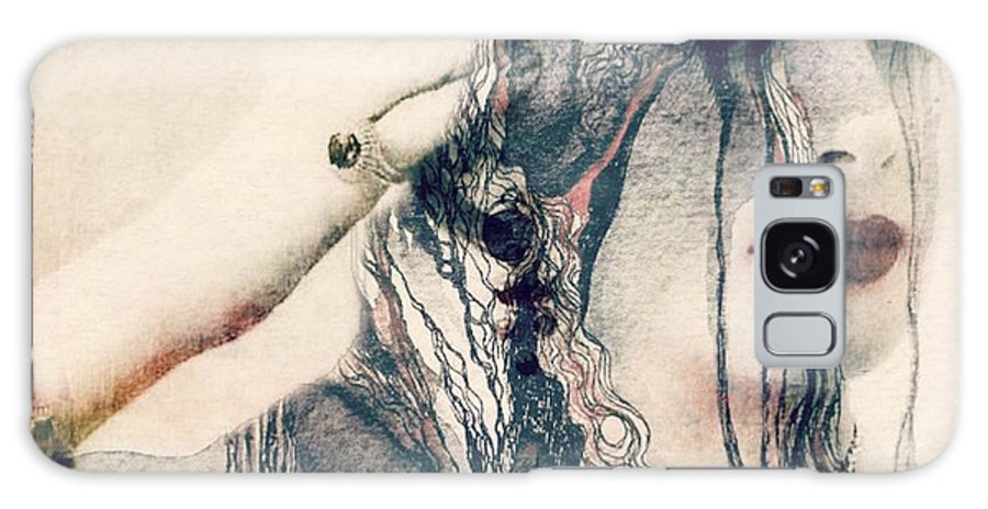 Woman Galaxy S8 Case featuring the mixed media The Way We Were by Paul Lovering