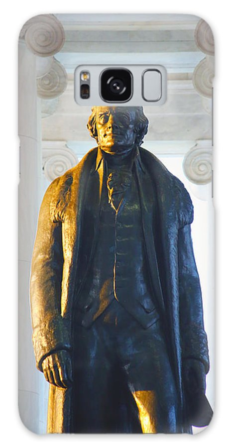 Jefferson Memorial Galaxy S8 Case featuring the photograph Thomas Jefferson by Mitch Cat