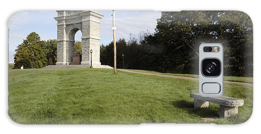 Granite Galaxy Case featuring the photograph Titus Arch Replica - Northfield Nh Usa by Erin Paul Donovan