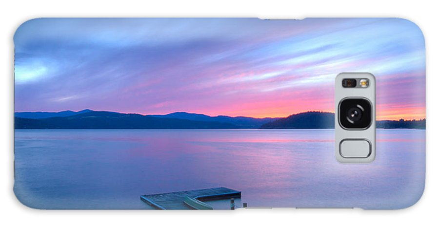 Coeur D'alene Galaxy S8 Case featuring the photograph Touch Of Pink by Idaho Scenic Images Linda Lantzy