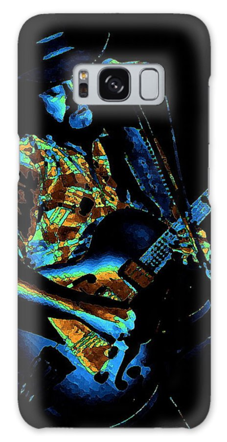Marshall Tucker Galaxy S8 Case featuring the photograph Toy Caldwell Art 2 by Ben Upham