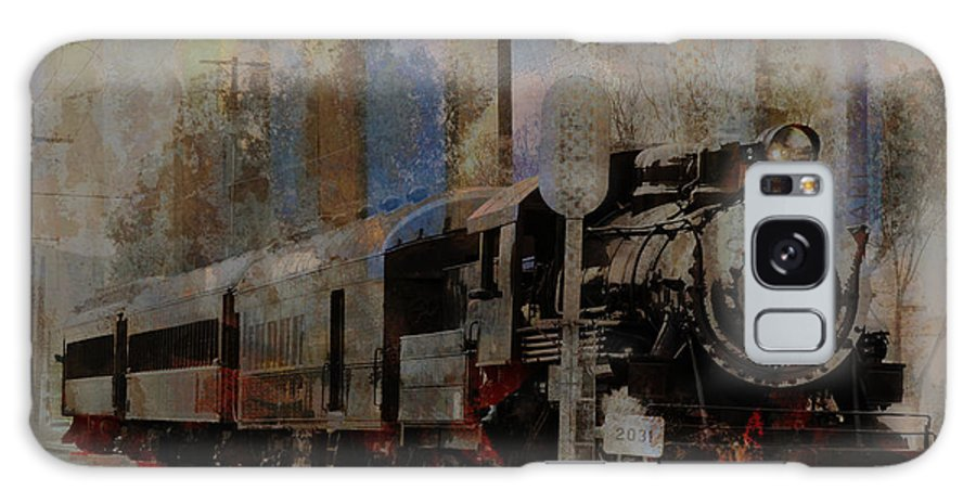 Train Galaxy S8 Case featuring the photograph Train Station by Robert Ball
