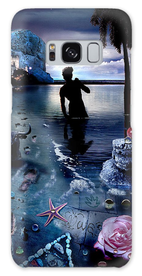 Treasure Galaxy S8 Case featuring the photograph Treasure Island by Mal Bray