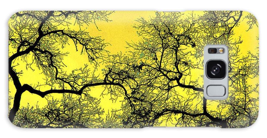 Digital Art Galaxy S8 Case featuring the photograph Tree Fantasy 18 by Lee Santa